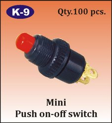 K-9 Mini Push On-Off Switch