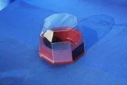 Benzon Hexagonal Plastic Container