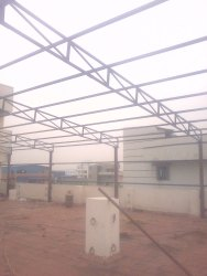 Terrace Shed Construction Work