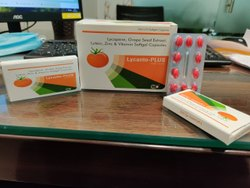 Lycopene, Grape Seed Extract, Lutein Zinc & Vitamin Softgel Capsules