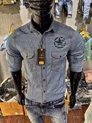 Denim Shirt(Peblow )
