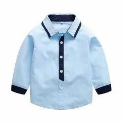 Kids Casual Wear Shirt, Age: 4 to 12 Years