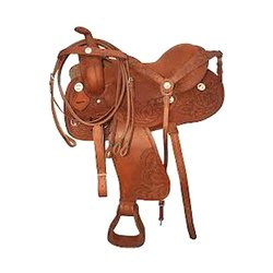Brown Leather Western Saddles