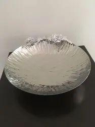 1 Kg SS Round Platter