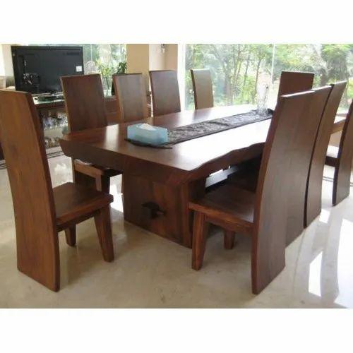 10 Seater Wooden Dining Table व डन ड इन ग ट बल लकड क भ जन करन व ल म ज Super Furniture Mumbai Id 20892477897