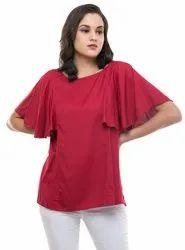 Rayon Casual Wear Gfashions Girls Top, 10-65