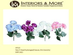 Polyester Bouquet Packing Hydrangea, Packaging Type: Packet