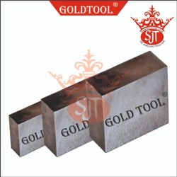 Gold Tool Steel Flat Plate Riveting Block Anvil