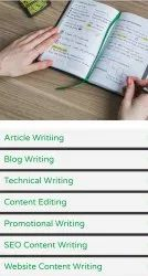 Content Writing Services(0. 90 Paise per word)