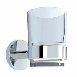 Stainless Steel Jaquar Continental Chrome Tumbler Holder, For Wash Basin Area