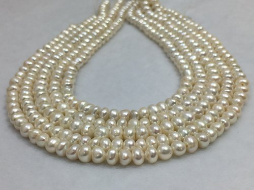 45787e9fe9d55 Freshwater Uneven Pearl Strings - Uneven Shape Freshwater Pearl ...