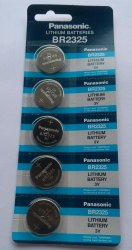 Panasonic BR 2325 Lithium Coin Cell Batteries