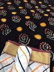 Bandhani Lehriya Dress Materials