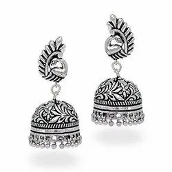 Trendy Oxidized Earring