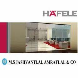 Hafele Glass Sliding Door, 75 Mm