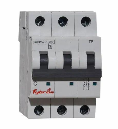 63Amp Three Pole Miniature Circuit Breaker
