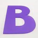 Acrylic Letter
