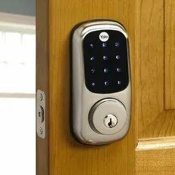 Automatic Door Lock, Stainless Steel