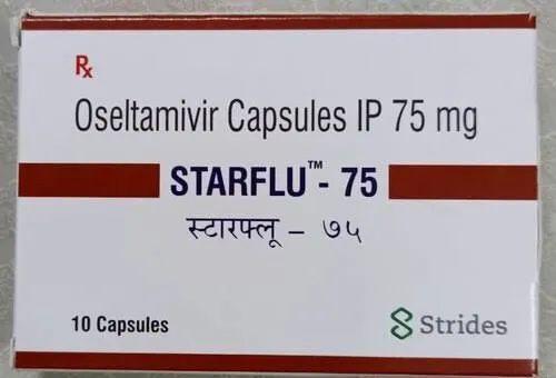 Starflu 75mg Capsules ( Oseltamivir 75mg Capsules - Strides Shasun )