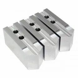 Mild Steel CNC Power Chuck Jaw Set, 3 Piece