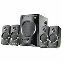 Playwood Computer Multimedia Speaker, Model Name/Number: Karaoke 222