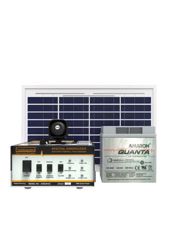 Solar Agricultural Fencing