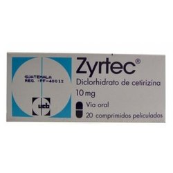 100 Mg Cetirizine Capsules