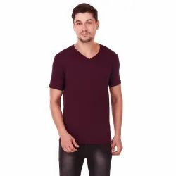 Men's V-Neck Cotton T-Shirt