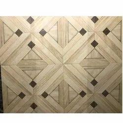 Fancy Ceramic Floor Tiles, Size: Medium