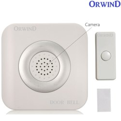 Orwind Gray Doorbell Camera, For Security, Wifi