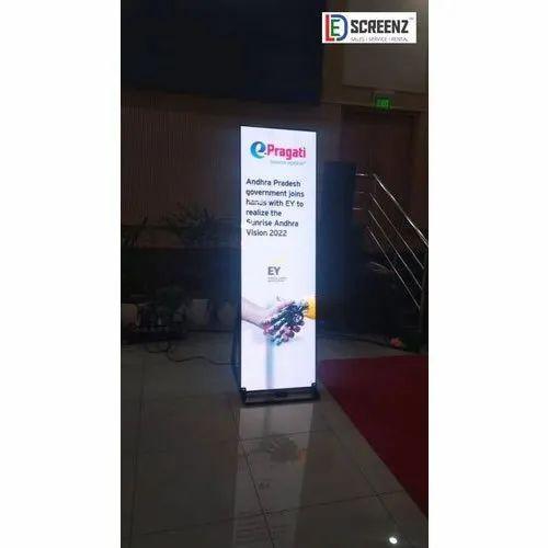 Led Indoor Advertising Display Standee
