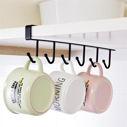 Metal Under Cabinet Hanger Rack