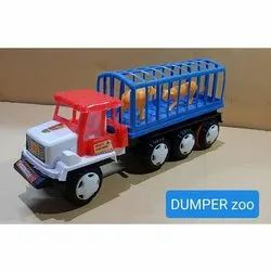Plastic Kids Dumper Zoo Truck Toy, Child Age Group: 4-6 Years