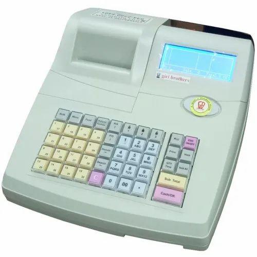 Semi-Automatic Supermarket Billing Machine, Warranty: 6 Months