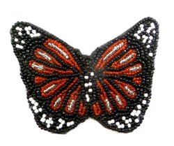 Butter Fly Beaded Patches