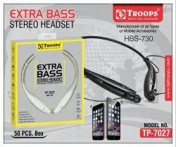 Troops Tp-7027 Hbs-730 Sada Bluetooth Headset