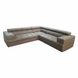 Modern Leather Living Room Fancy Corner Sofa Set Rs 29000 Set Id 21601934362