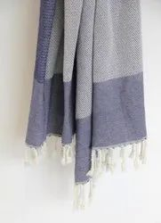 Soft Cotton Hand Loom Weave Throw Blanket