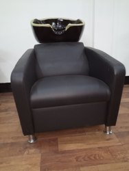Black Shampoo Chair