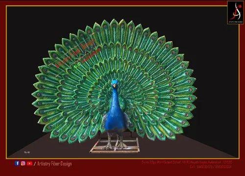 Wedding Backdrop Peacock