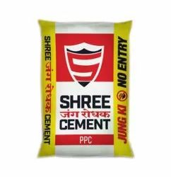 OPC (Ordinary Portland Cement) Shree Cement, Packaging Size: 50 Kg, Cement Grade: Grade 43