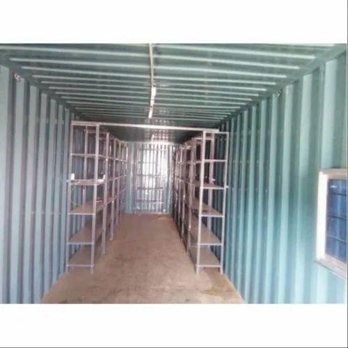 Iron Rack Storage Container