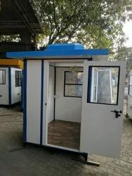 Prefabricated  FRP Security Cabin