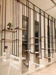 Interior Design Metal Rack