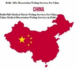 China Dissertation Writing Services