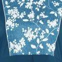Turquoise Blue Poly Crepe Kurta(JNE3399)