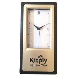 Wall Mounted Glass Promotional Wall Clock, Size: 11 Inch