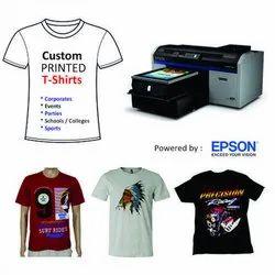 Cotton Digital T- Shirt DTG Printing Service