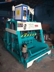 Three Phase 5.5 HP Solid Block Making Machine Pressing Type