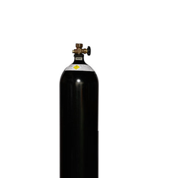 Black Oxygen Gas Cylinder, For Industrial